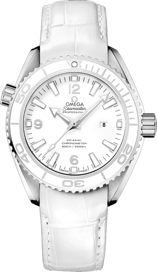 3265a70a0 232.33.38.20.04.001 Omega Seamaster Planet Ocean Ladies Automatic Watch
