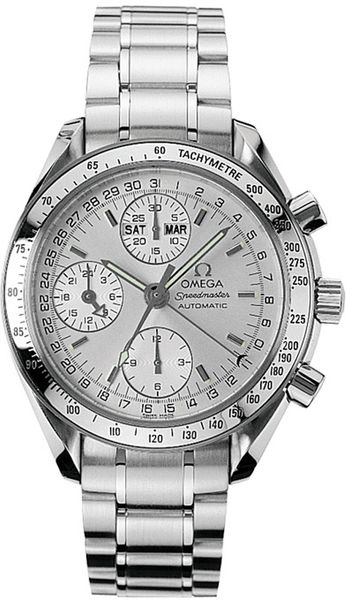 Omega Speedmaster Day Date 39mm Silver Dial Men's Watch 3523.30.00