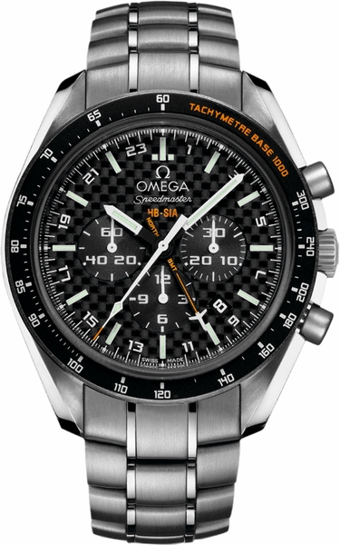 Omega Speedmaster HB-SIA Co-Axial GMT Chronograph Men's Watch 321.90.44.52.01.001
