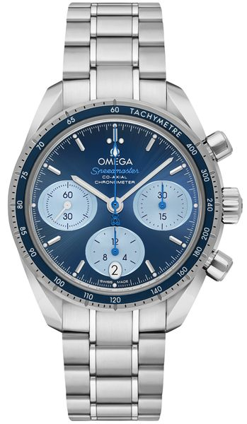 Omega Speedmaster 38 Orbis Blue Dial Men's Watch 324.30.38.50.03.002