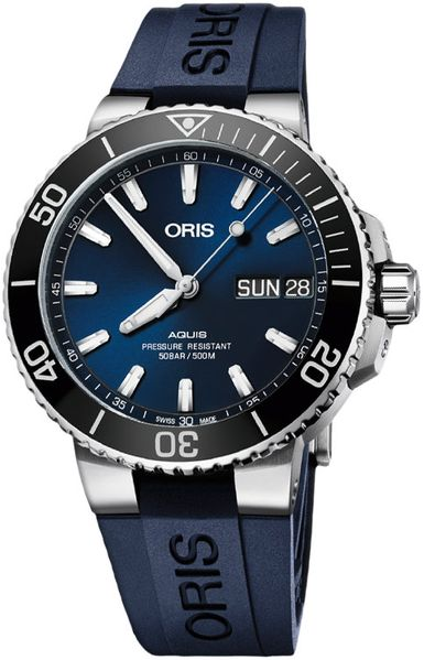 Oris Aquis Big Day Date Men's Diving Watch 75277334135RS