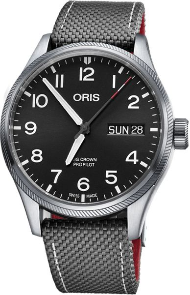 Oris 55th Reno Air Races Black Dial Men's Watch 75276984194FS