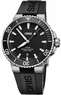 Oris Aquis Date Black Dial Men's Watch 73377304124RS