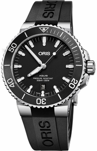 Oris Aquis Date Black Dial Men's Watch 73377304154RS