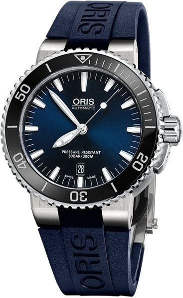Oris Aquis Date Blue Dial Men's Watch 73376534135RS-BLUE