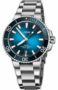 Oris Aquis Date Clean Ocean Limited Edition Men's Watch 73377324185MB