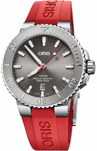 Oris Aquis Date Relief Automatic Men's Watch 73377304153RS-RED