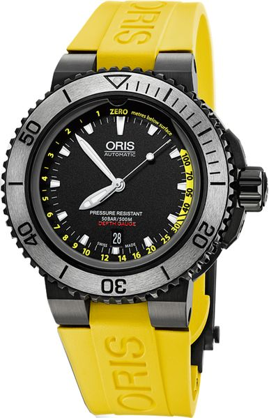 Oris Aquis Depth Gauge Men's Watch 73376754754RS-SET