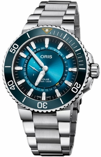 Oris Aquis Great Barrier Reef Limited Edition Men's Watch 74377344185MB