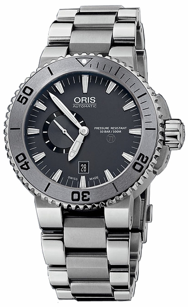 Oris Aquis Small Second, Date 74376647253MB