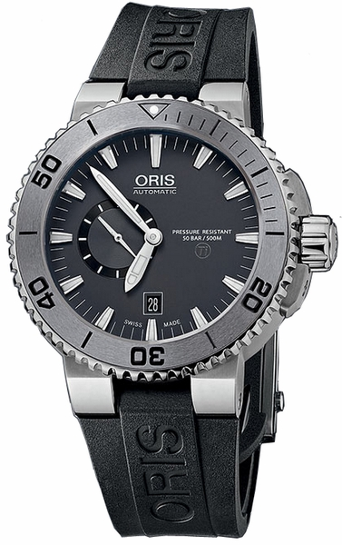 Oris Aquis Small Second, Date 74376647253RS