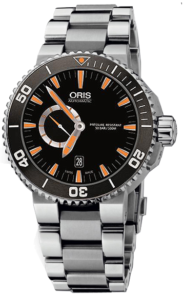 Oris Aquis Small Second, Date 74376734159MB