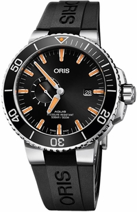 Oris Aquis Small Second, Date 74377334159RS