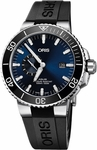 Oris Aquis Small Second, Date Men's Watch 74377334135RS