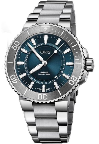 Oris Aquis Source of Life Limited Edition Men's Watch 73377304125MB