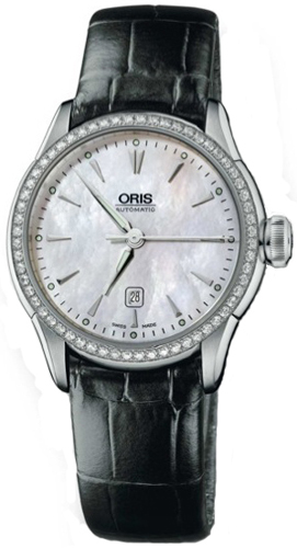 Oris Artelier Date Diamonds 56176044956LS