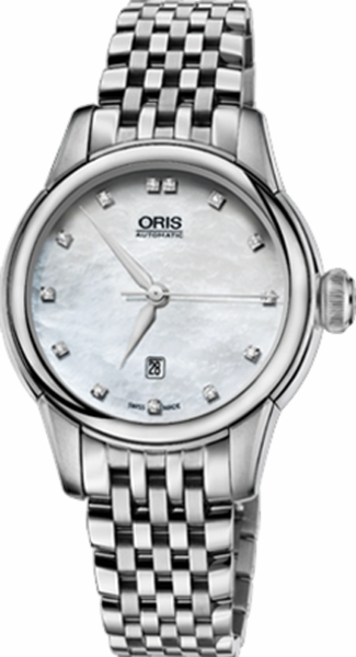 Oris Artelier Date Diamonds 56176874091MB