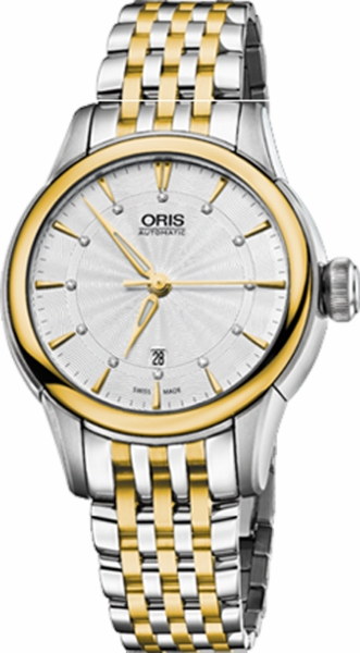 Oris Artelier Date Diamonds 56176874351MB