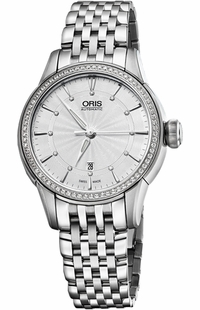 Oris Artelier Date Diamonds 56176874951MB