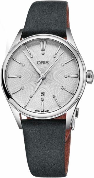 Oris Artelier Date Diamonds 56177244051LS-Black