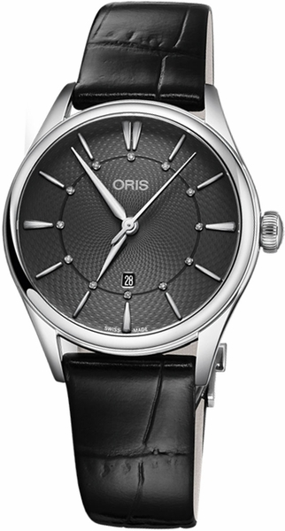 Oris Artelier Date Diamonds Women's Watch 56177244053LS