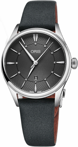 Oris Artelier Date Diamonds 56177244053LS-Black