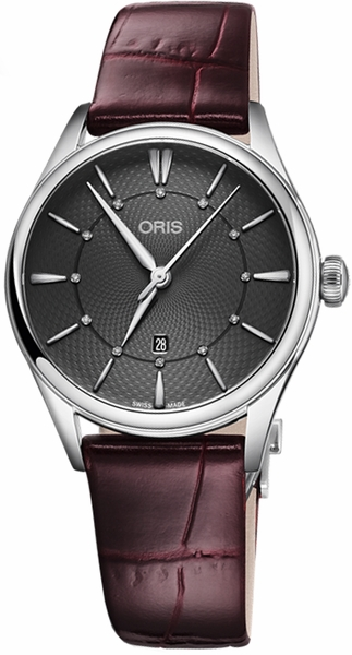 Oris Artelier Date Diamonds 56177244053LS-RED