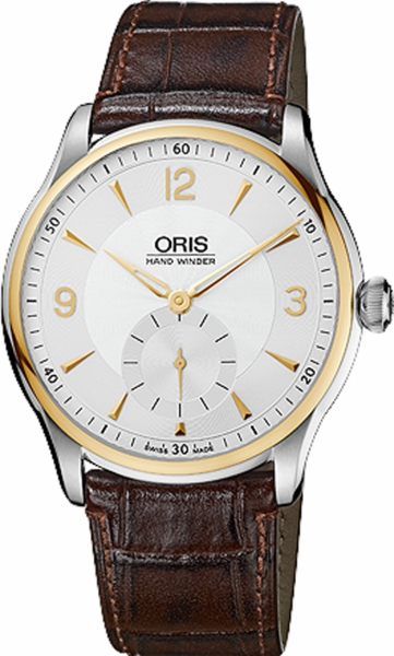 Oris Artelier Hand Winding, Small Second 39675804351LS