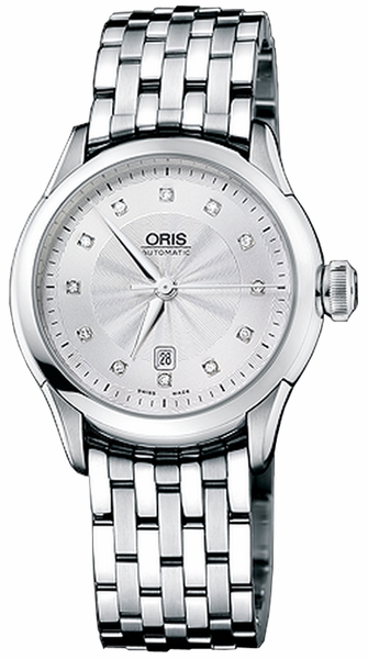 Oris Artelier Date Diamonds 56176044041MB