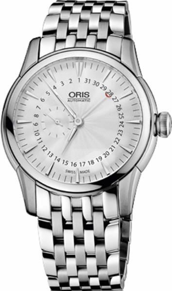Oris Artelier Small Second, Pointer Date  74476654051MB