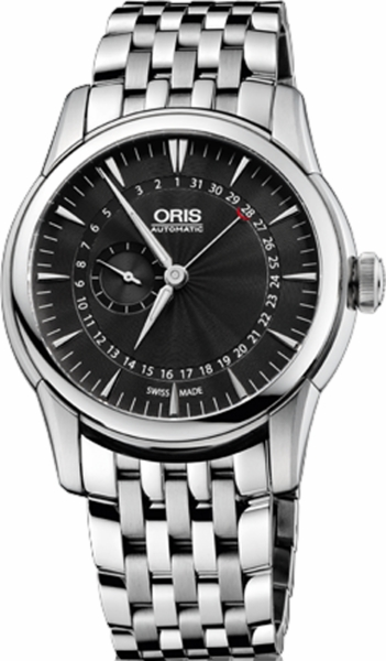 Oris Artelier Small Second, Pointer Date 74476654054MB