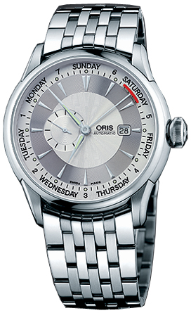Oris Artelier Small Second, Pointer Day 64575964051MB
