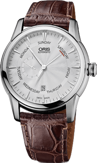 Best Automatic Watches >> 74576664051LS Oris Artelier Small Second, Pointer Day ...