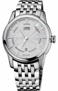 Oris Artelier Small Second, Pointer Day 74576664051MB