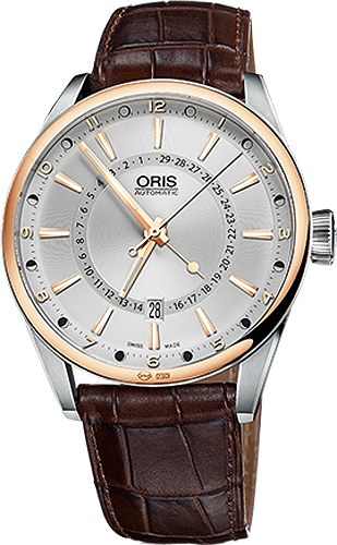 Oris Artix Pointer Moon Date 76176916331LS