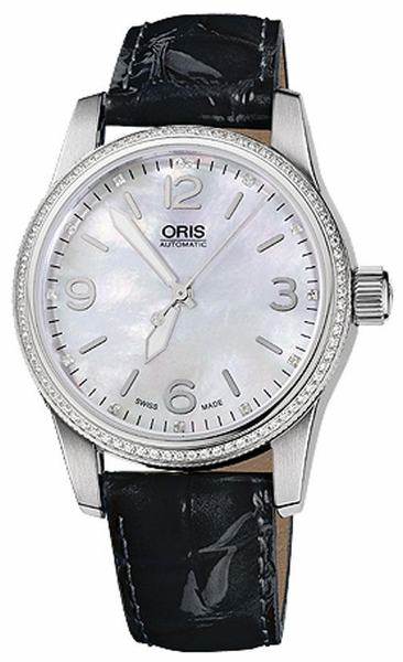 Oris Big Crown Diamonds 73376494966LS-BLK