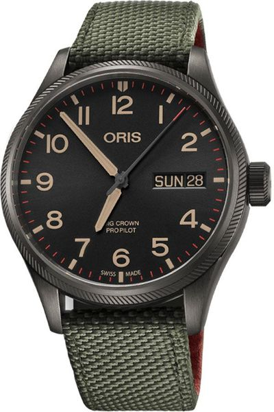 Oris Big Crown ProPilot 40th Squadron Men's Watch 75276984274FS
