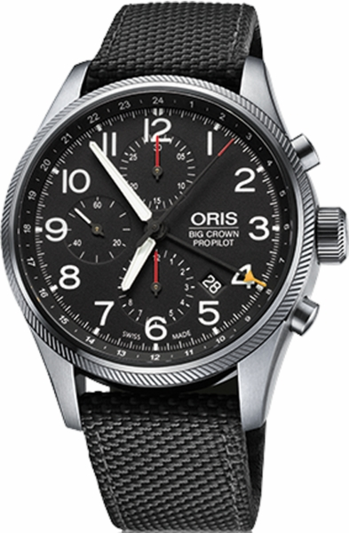 Oris Big Crown ProPilot Chronograph GMT 67776994164FS-BLACK
