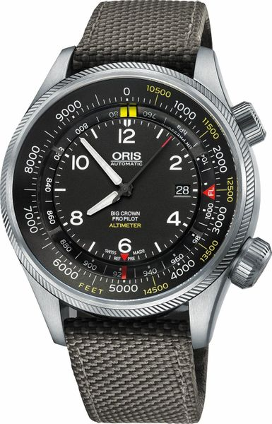 Oris Big Crown ProPilot Altimeter with Feet Scale 73377054134FS-GREY
