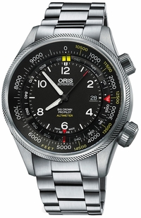 Oris Big Crown ProPilot Altimeter with Feet Scale Men's Watch 73377054134MB
