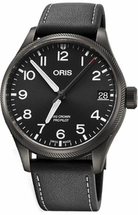 Oris Big Crown ProPilot Big Date Black Dial Men's Watch 75176974264LS