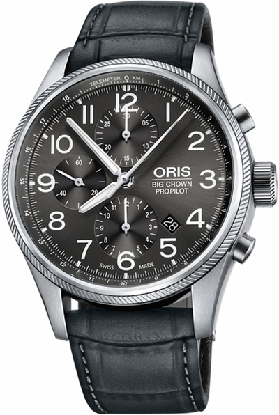 Oris Big Crown ProPilot Chronograph 44mm Watch 77476994063LS-GREY