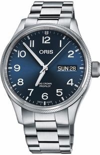 Oris Big Crown ProPilot Day Date Men's Watch 75276984065MB