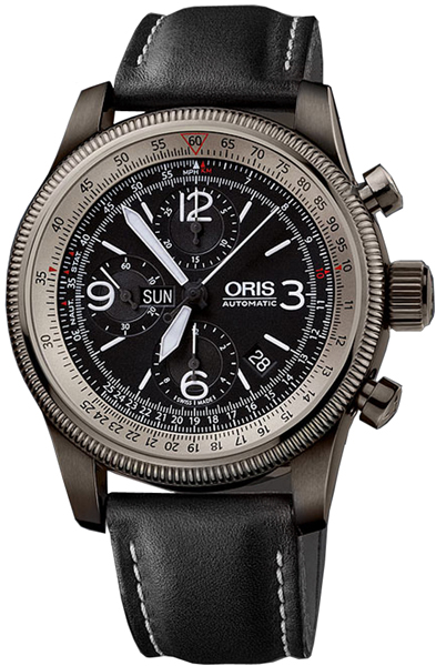 Oris Big Crown X1 Calculator Chronograph Watch 67576484264LS