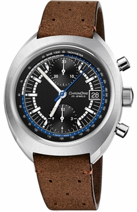 Oris Chronoris Black Dial Chronograph Men's Watch 67377394084LS