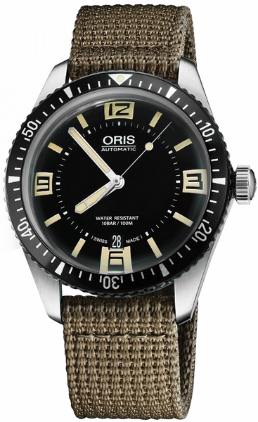 Oris Divers Sixty-Five 40mm Automatic Watch 73377074064FS