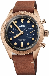 Oris Divers Carl Brashear Chronograph Limited Edition 77177443185LS