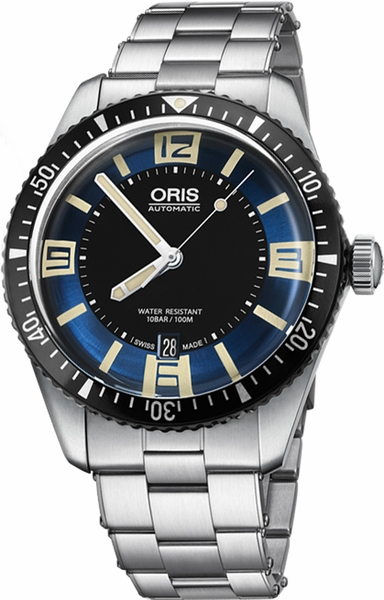 Oris Divers Sixty-Five 40mm Stainless Steel Men's Watch 73377074035MB