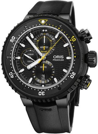 Oris ProDiver Dive Control Limited Edition Men's Watch 77477277784RS