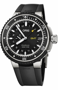 Oris ProDiver GMT Black Dial Men's Watch 74877487154RS